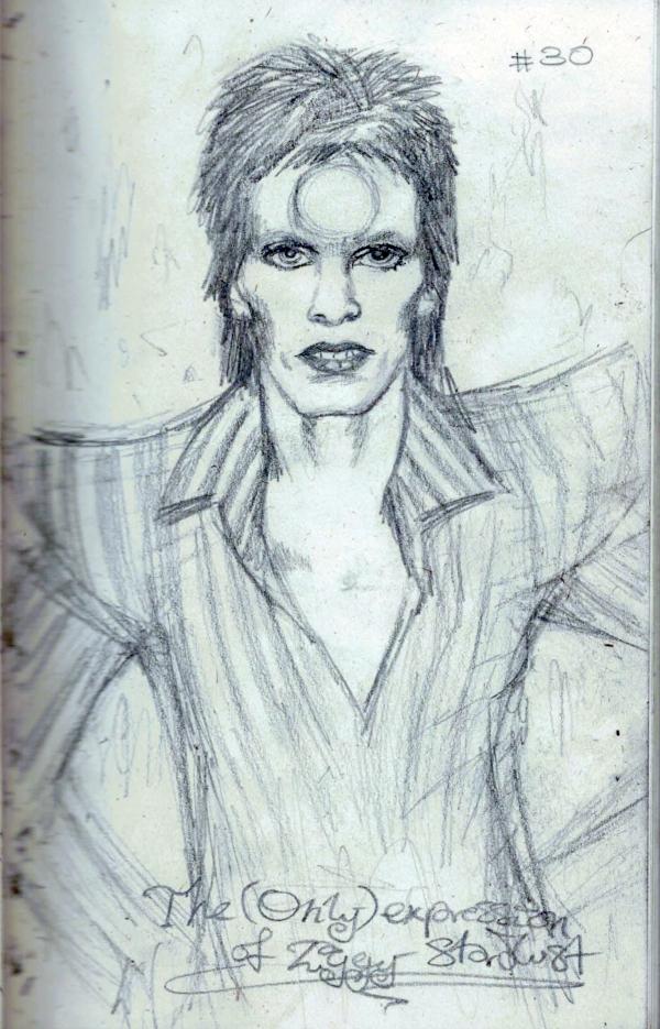 Stardust Sketch 1